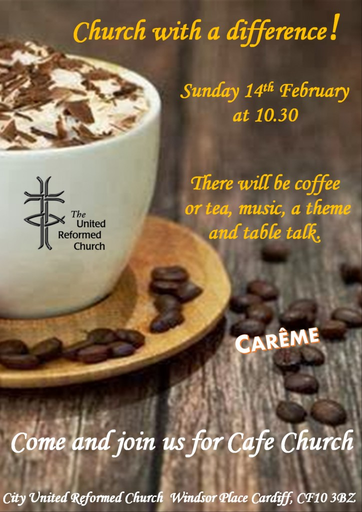 Cafe Church at City URC 14th February 2016