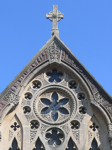City United Reformed Church arch