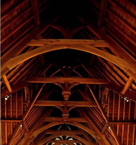 City United Reformed Church internal roof space